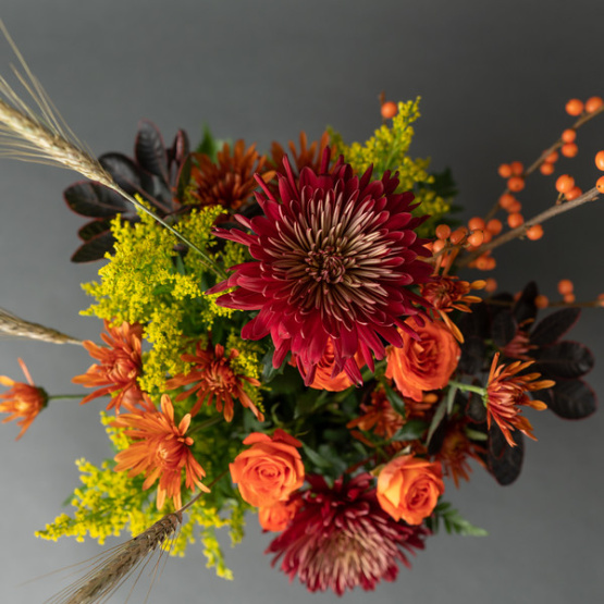 Rustic Autumn Hand-tied Bouquet