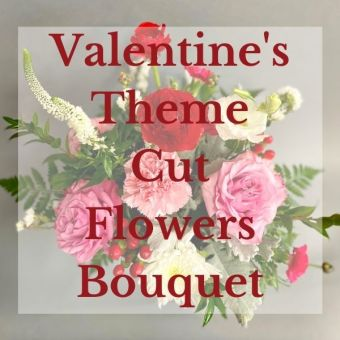 Valentine\'s Cut Flowers Bouquet